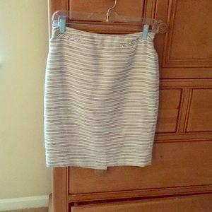 Gently worn striped pencil skirt